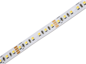 LED pásek, 19,2W WARM WHITE+WHITE, 120LED/m